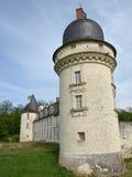 城堡中世纪塔 免版税图库摄影