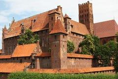 城堡中世纪老 免版税库存照片