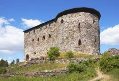 城堡中世纪raasepori 免版税库存照片