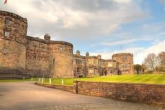 城堡中世纪skipton 免版税图库摄影
