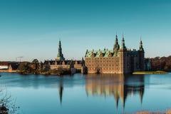 城堡丹麦菲特列堡 图库摄影