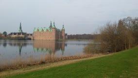 城堡丹麦菲特列堡 库存图片