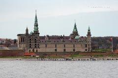 城堡丹麦赫尔新哥kronborg 图库摄影