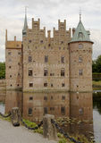 城堡丹麦egeskov 免版税库存照片