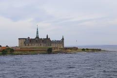 城堡丹麦hdr图象kronborg类型 免版税库存图片