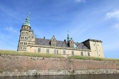 城堡丹麦kronborg 库存图片