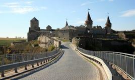 城堡乌克兰 库存照片