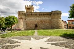 城堡乌尔比萨利亚 免版税库存图片