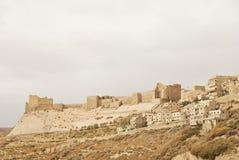 城堡乔丹karak 免版税库存图片