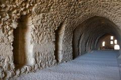 城堡乔丹karak 库存图片