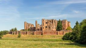 城堡伊丽莎白女王的英国庭院kenilworth被恢复的warwickshire 免版税库存照片