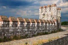 城堡伊斯坦布尔yedikule 免版税库存图片