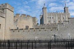 城堡伦敦塔 库存照片