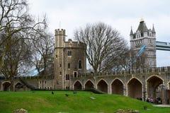 城堡伦敦 免版税图库摄影