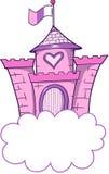 城堡俏丽的向量 免版税库存图片