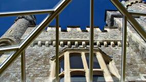 城堡保存性玻璃屋顶 库存照片