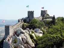 城堡停泊2 免版税库存照片