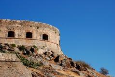 城堡克利特retimno 免版税库存图片
