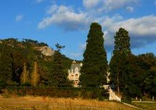 城堡克里米亚乌克兰 库存照片