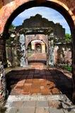 城堡入口  库存照片