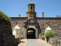 城堡入口 免版税库存照片