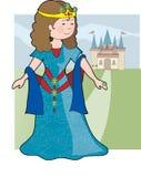 城堡公主 免版税库存图片