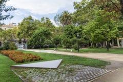 城堡公园在巴塞罗那 免版税库存照片