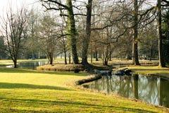 城堡公园收藏页 库存图片
