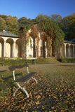 城堡公园sychrov 免版税库存照片