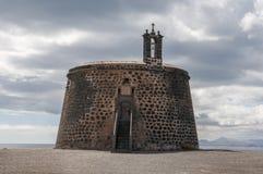城堡兰萨罗特岛 免版税库存照片