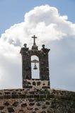 城堡兰萨罗特岛 库存图片
