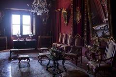 城堡内部 库存图片