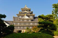 城堡冈山 库存图片