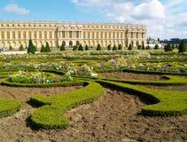 城堡凡尔赛 免版税库存图片