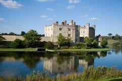 城堡利兹反映 免版税库存图片