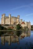 城堡利兹英国 库存照片