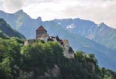 城堡利希滕斯泰因瓦杜兹 库存图片