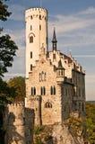 城堡利希滕斯泰因 免版税图库摄影