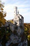 城堡利希滕斯泰因 免版税库存图片