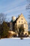 城堡利希滕斯泰因,德国 库存图片