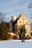 城堡利希滕斯泰因,德国 免版税库存图片