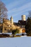 城堡利希滕斯泰因,德国 免版税库存照片