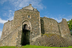 城堡前面 图库摄影
