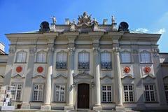 城堡华沙 库存图片