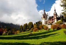 城堡博物馆peles 免版税库存照片