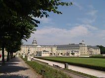 城堡卡尔斯鲁厄 免版税库存照片