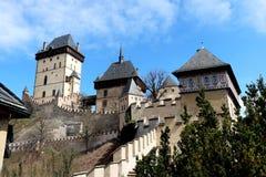 城堡卡尔tejn 库存照片