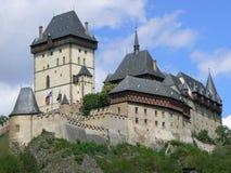 城堡卡尔tejn 免版税图库摄影