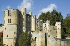 城堡卢森堡 库存图片