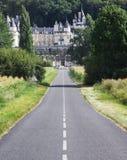 城堡卢瓦尔河rigny ussy谷 库存图片